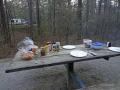 Tisch gedeckt sab