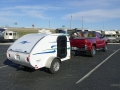 Mini Caravan am Pickup sab