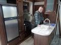 Küche ohne Eiswuerfel mit Wolf sab