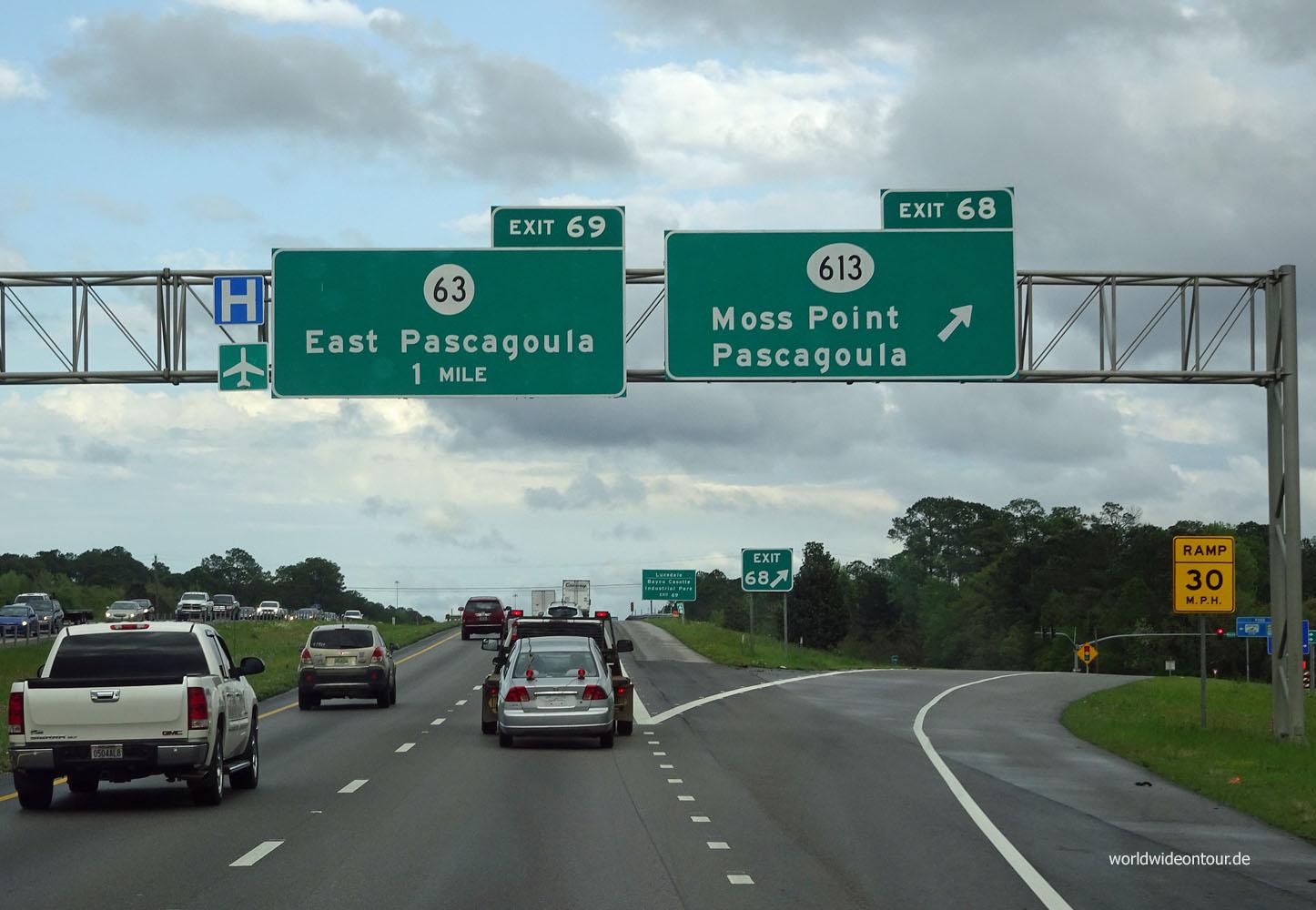 Abfahrt Highway sab