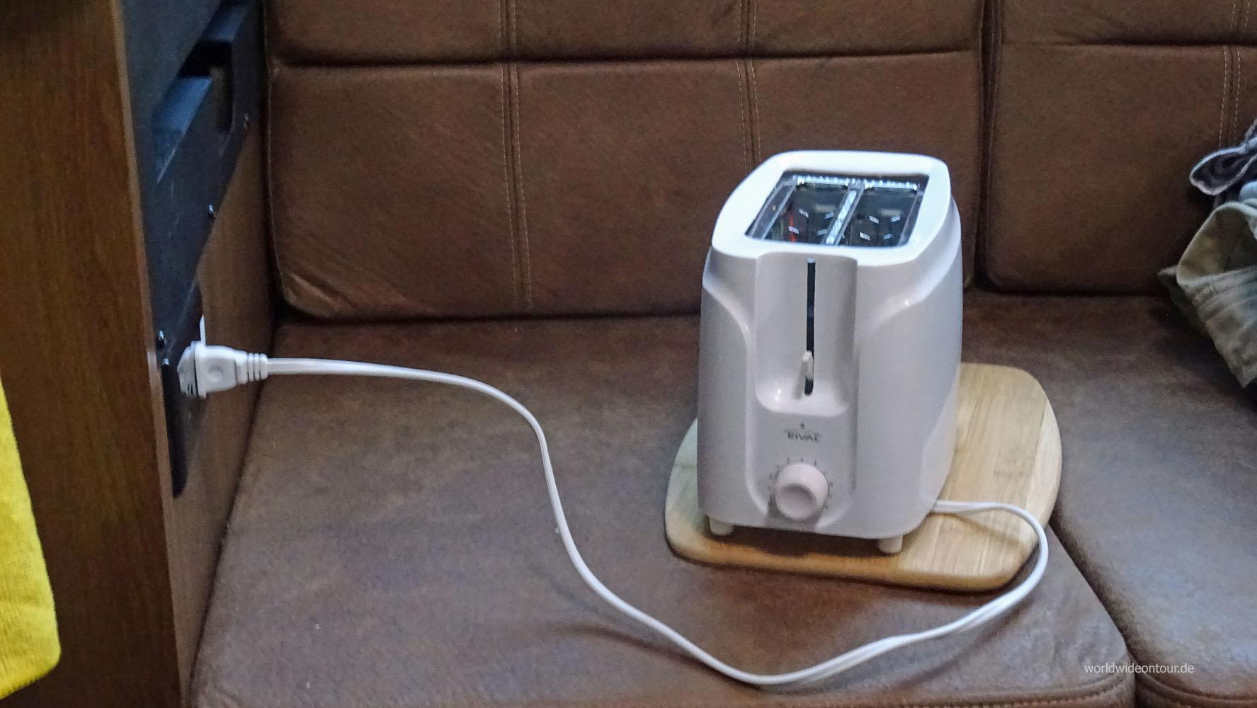 Toaster whe