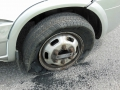 Platter Reifen ohne Kappe wheof