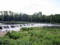 Ventas Rumbas: Der breiteste Wasserfall Europas in Kuldiga/Lettland.