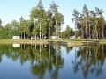 """Campingplatz """"Tehumardi"""" bei Salme auf der estnischen Insel Saaremaa."""