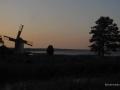 Sonneruntergang bei Salme auf der estnischen Insel Saaremaa