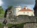Burg mit Wolf sabof