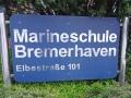 Hinweisschild Marineschule Bremerhaven whe_bearbeitet-2