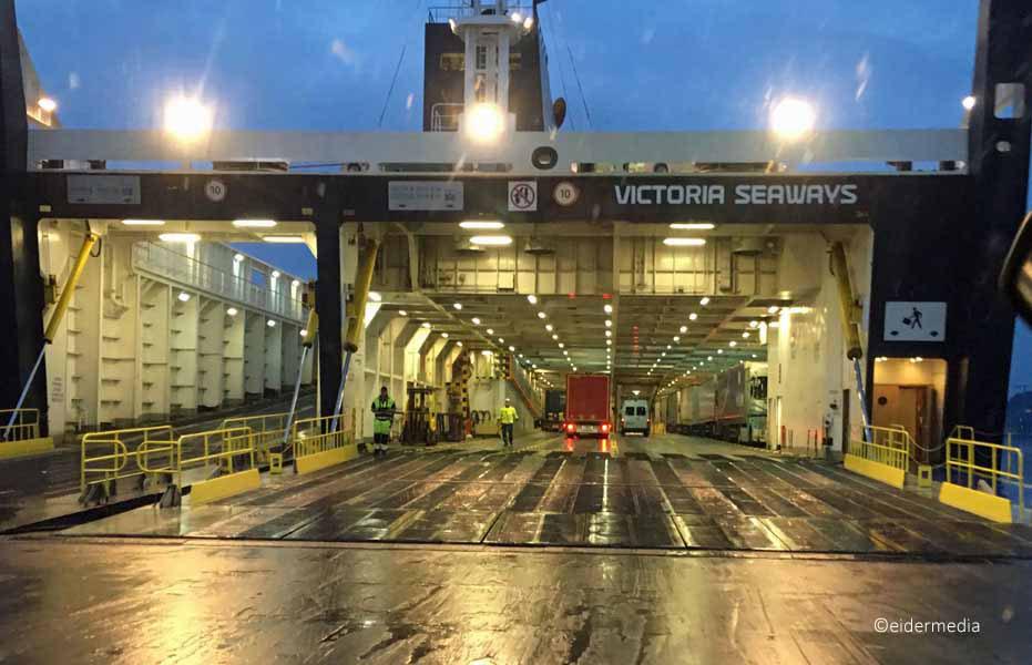 Heckrampe Victoria Seaways sab