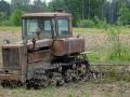 Traktor bei Slitere whe