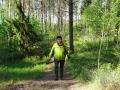 Sabine im Wald wheofof