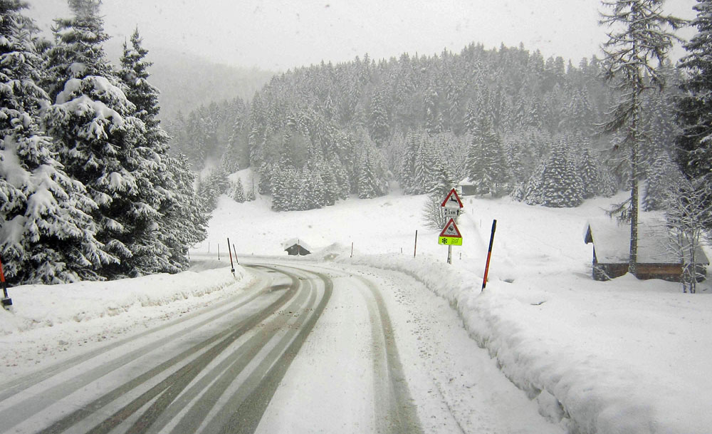 Verschneite Rückfahrt wheoF