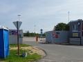 Einfahrt Autoterminal wheof