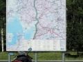 Straßenkarte Via Baltica sab
