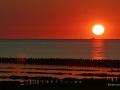 Sonnenuntergang Außenwesser whe