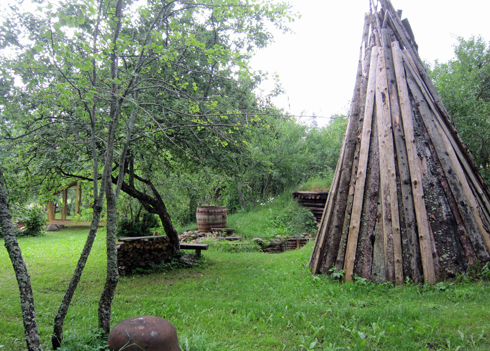 Rustikale Saunen im Saunamaa