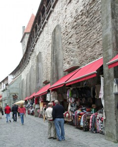Kunstgewerbe in der Stadtmauer