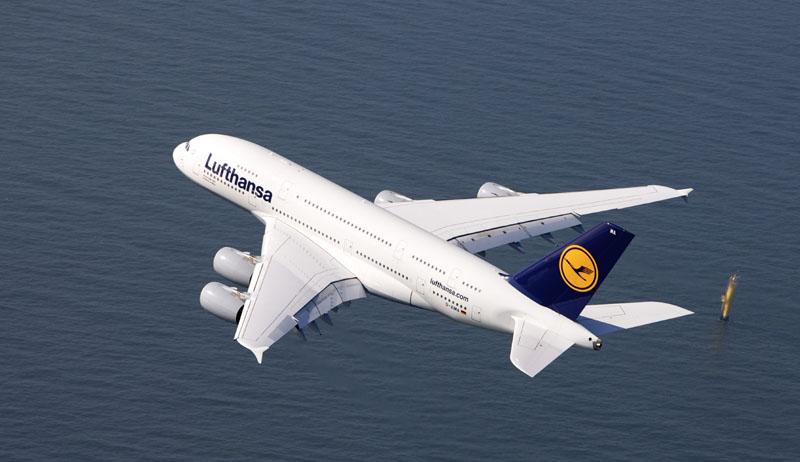 Der Airbus A 380 gehört zu den modernsten Flugzeugen der Lufthansa. Foto: Gregor Schlaeger/Lufthansa Technik AG