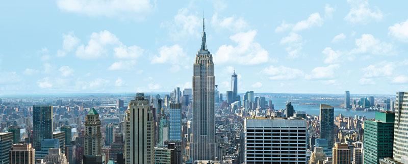 Manhattan: Einer von fünf New Yorker Stadtteilen Foto: Lufthansa