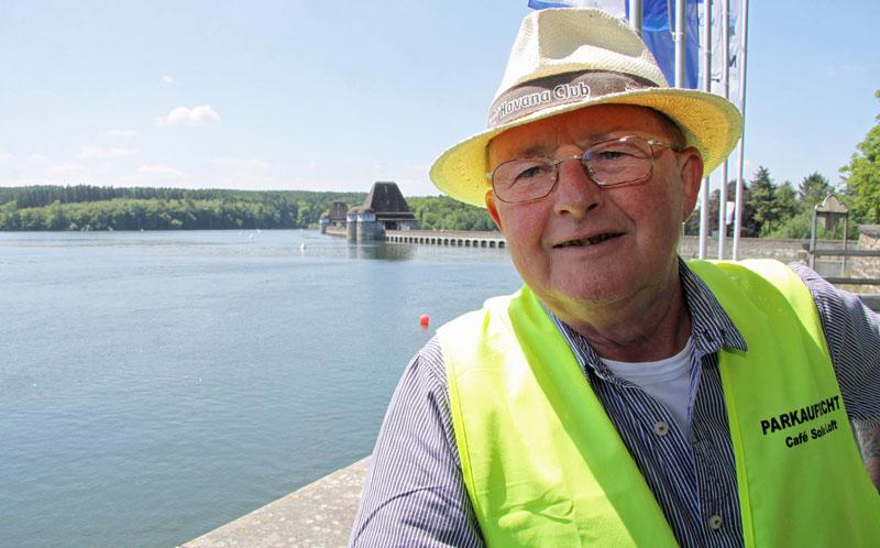 Alan Murphy liebt das Sauerland und den Möhnesee