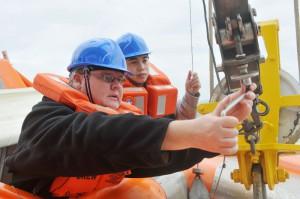 Ständiges Training sorgt für Sicherheit. Foto: ILO