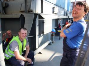 Ladungssicherung: Ohne gutes Stevedore-Personal geht wenig auf einem Containerschiff