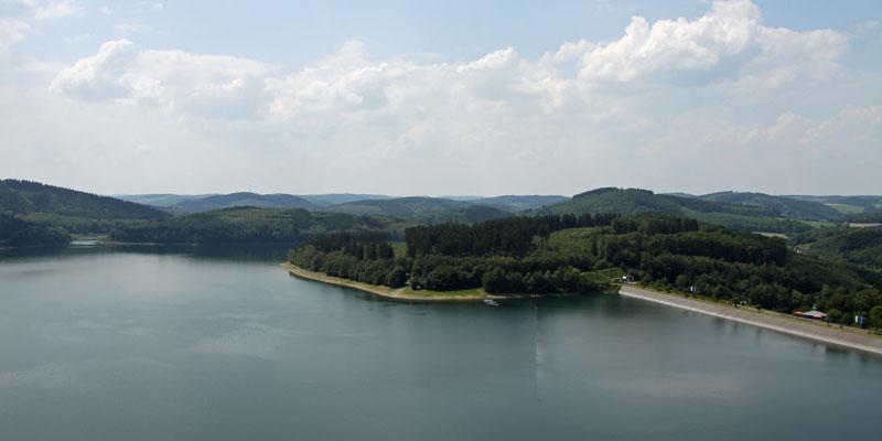Die phantastische Seenlandschaft