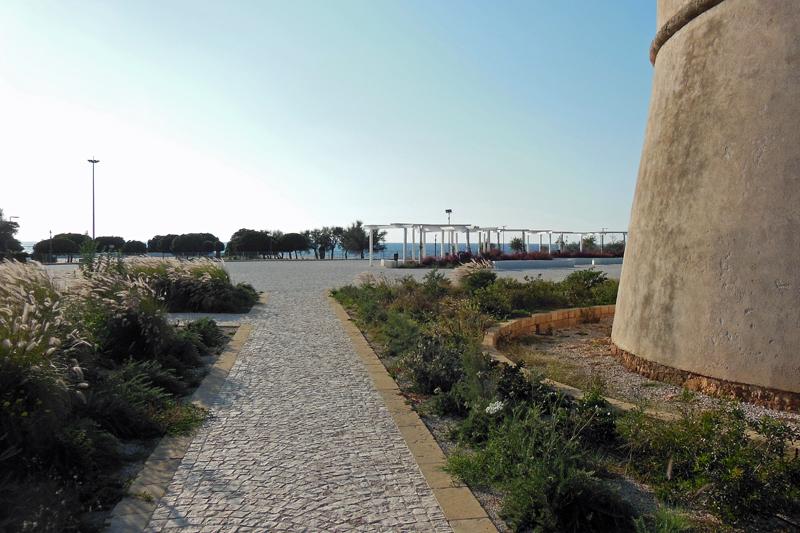 Riesenflächen rund um den Torre Suda
