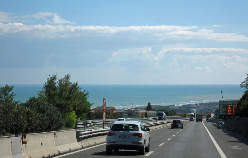 Reise nach Gallipoli über die Autostrada del Sole. Fotos: Sabine Sopha