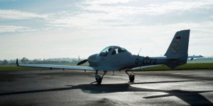 Aquila 210 - das neue Trainingsflugzeug für den Nachwuchs. Fotos: Condor Flugdienst GmbH