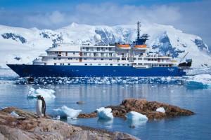 Eisfahrt in polaren Gewässern