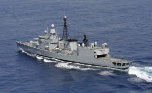 UNIFIL-Verband Fregatte KARLSRUHE