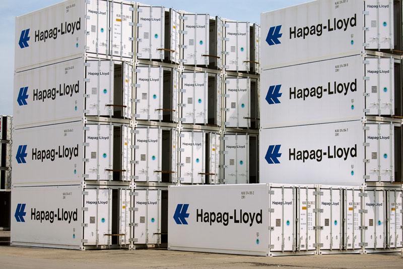 """Bananen """"schlafen"""" in Kühl-Containern. Fotos: Hapag-Lloyd"""