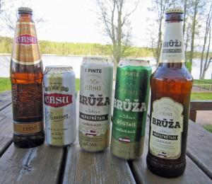 ....und lecker Bier gibt es auch aus der örtlichen Brauerei
