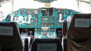 Uhrenladen: Das Cockpit