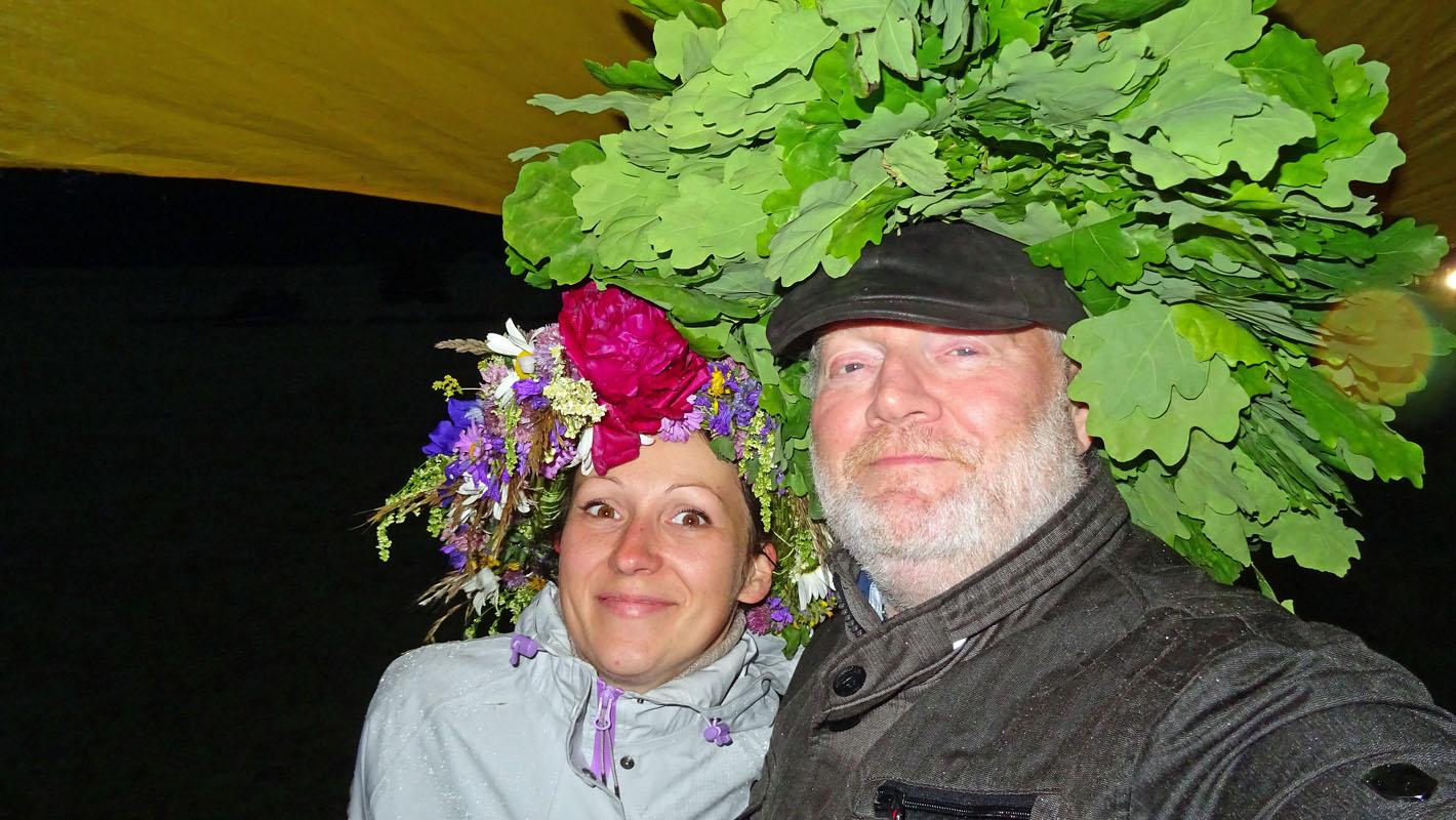 Liga Perro und Autor Wolfgang Henze. Fotos: Henze