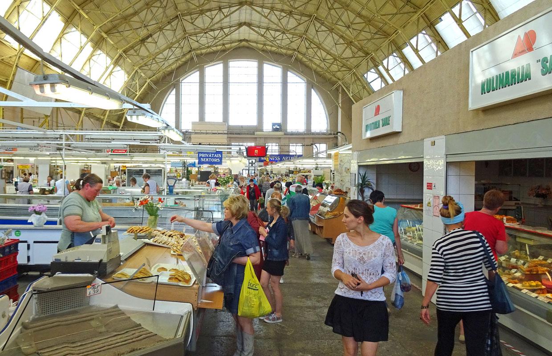 Pārtikas produktu kvalitātes pārbaude Rīgas Centrāltirgū