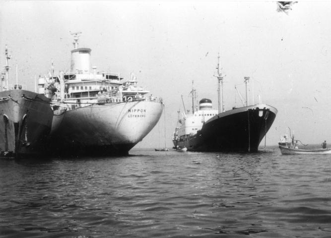 Insgesamt 14 Frachter gerieten in einem Stellvertreter-Konflikt Anfang Juni 1967 in die Mühlen der großen Politik. Fotos: Hapag-Lloyd