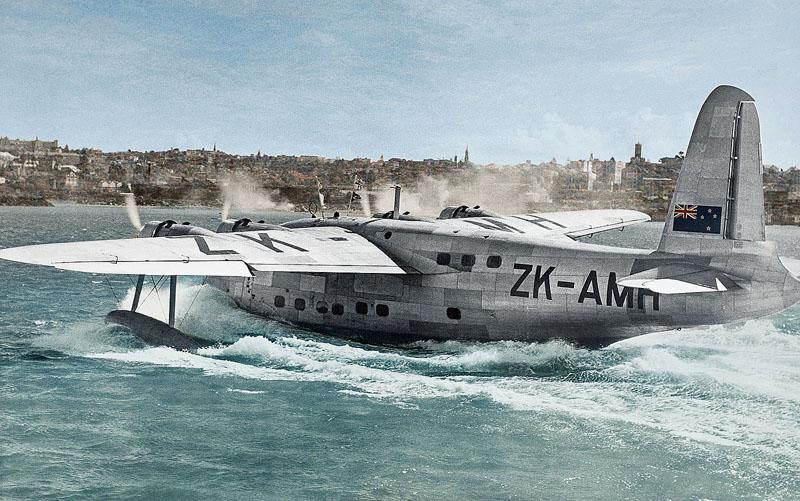 Landung auf dem Solent 1947
