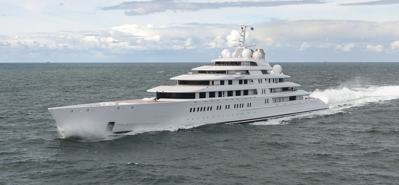 """Azzam"": Die längste Privat-Yacht der Welt. Fotos: Fr. Lürssen, Wolfgang Henze,Klaus Jordan, Guillome Plisson"