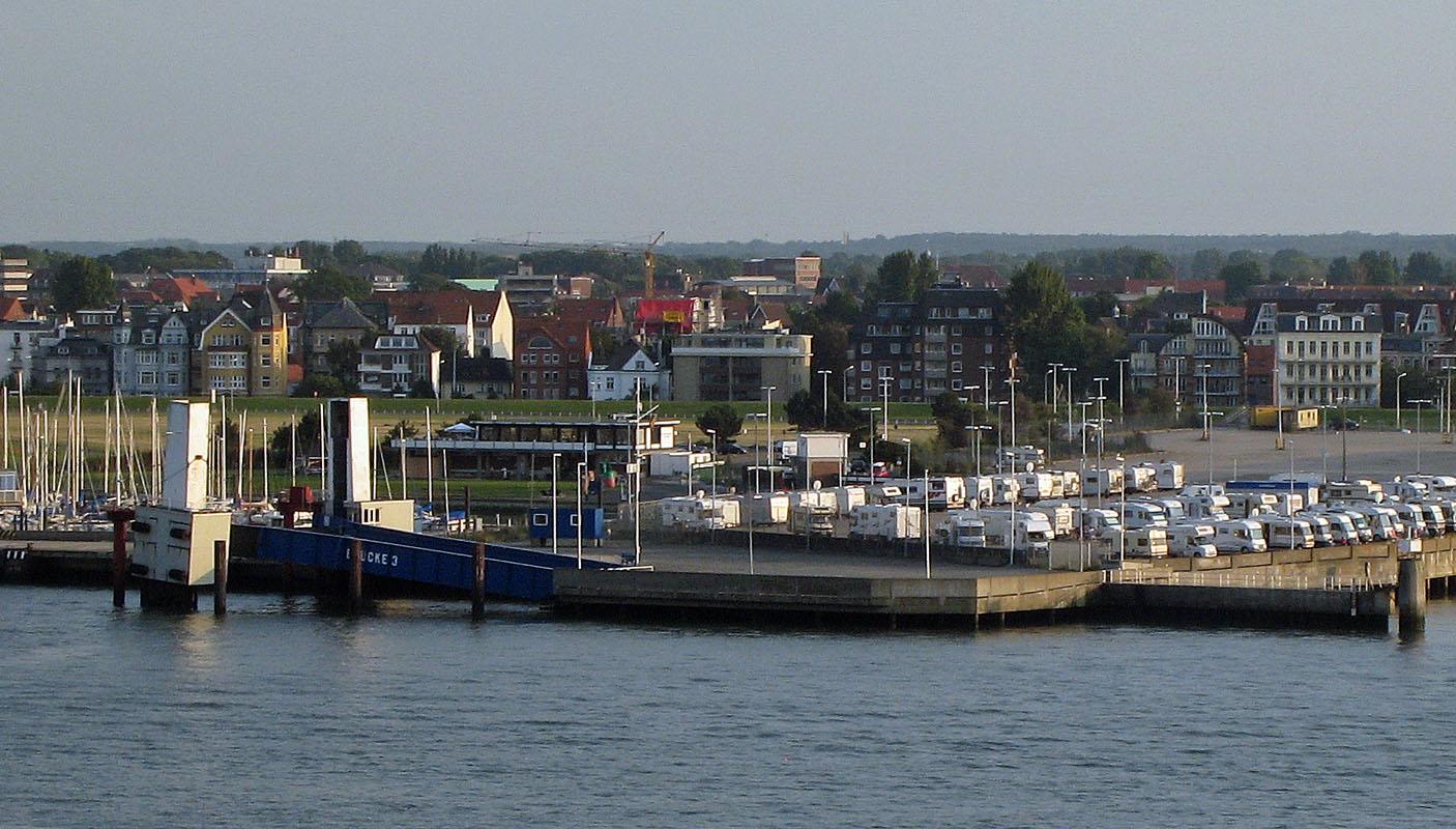 Der alte England-Fähranleger in Cuxhaven wird neu in Dienst genommen