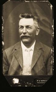 Werft-Gründer Friedrich Lürßen.
