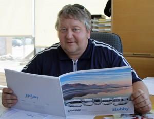 Meelis Adamson: Camper in zweiter Generation und Firmenchef. Fotos: Henze