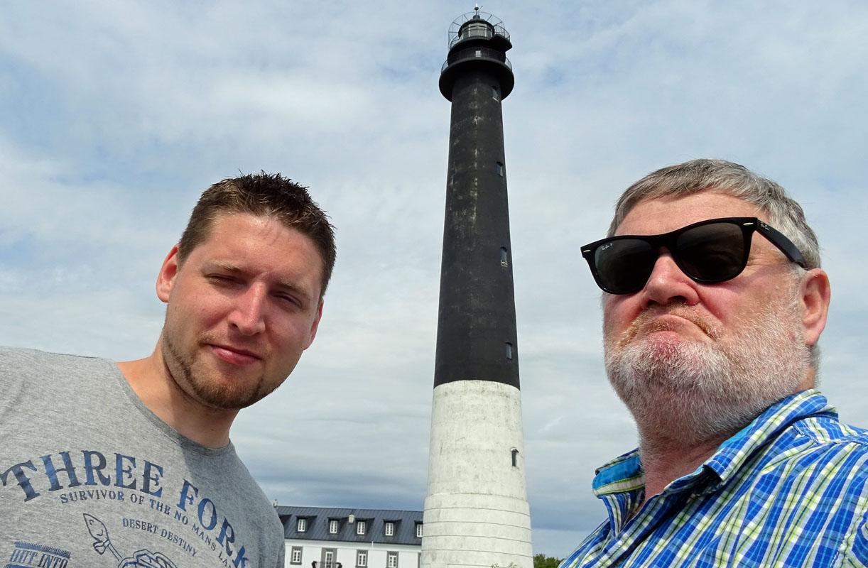 Der Leuchtturm in Sääre hat sich in den letzten Jahren nicht verändert. Fotos: Henze