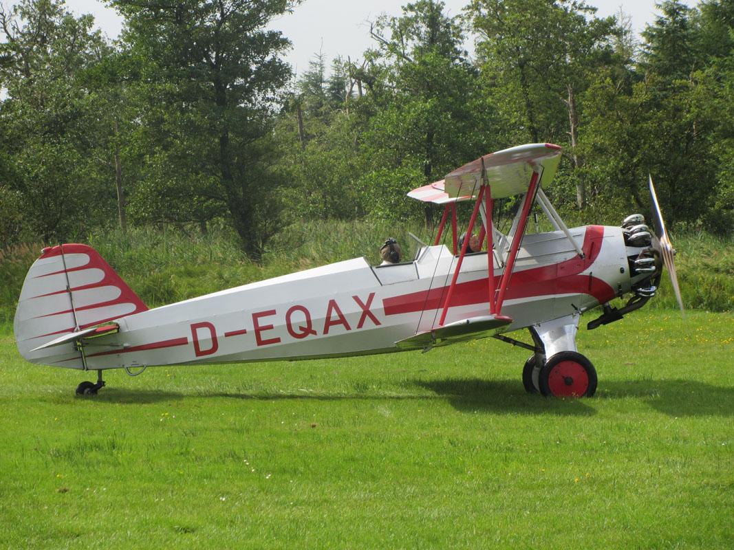 """Eine von 14: Focke-Wulff """"Stieglitz""""."""