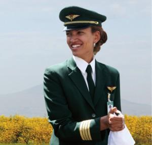Premiere: Addis Abeba nach Bangkog von weiblicher Hand geflogen. Fotos: Ethiopian Airlines