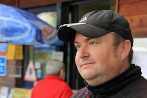 Imbiss-Wirt Holger Petersen übernimmt die Leitung des neuen Markttreffs.