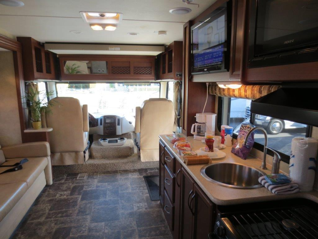 Road Bear RV USA 2015 U Class 29 32ft image interior kitchen driving