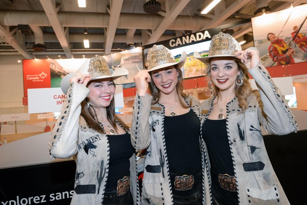 Warum nicht mal nach Kanada reisen. Fotos: ITB/Messe Berlin