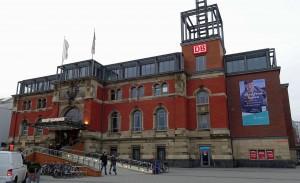 Der Hauptbahnhof von Kiel mit der Kaisertreppe.