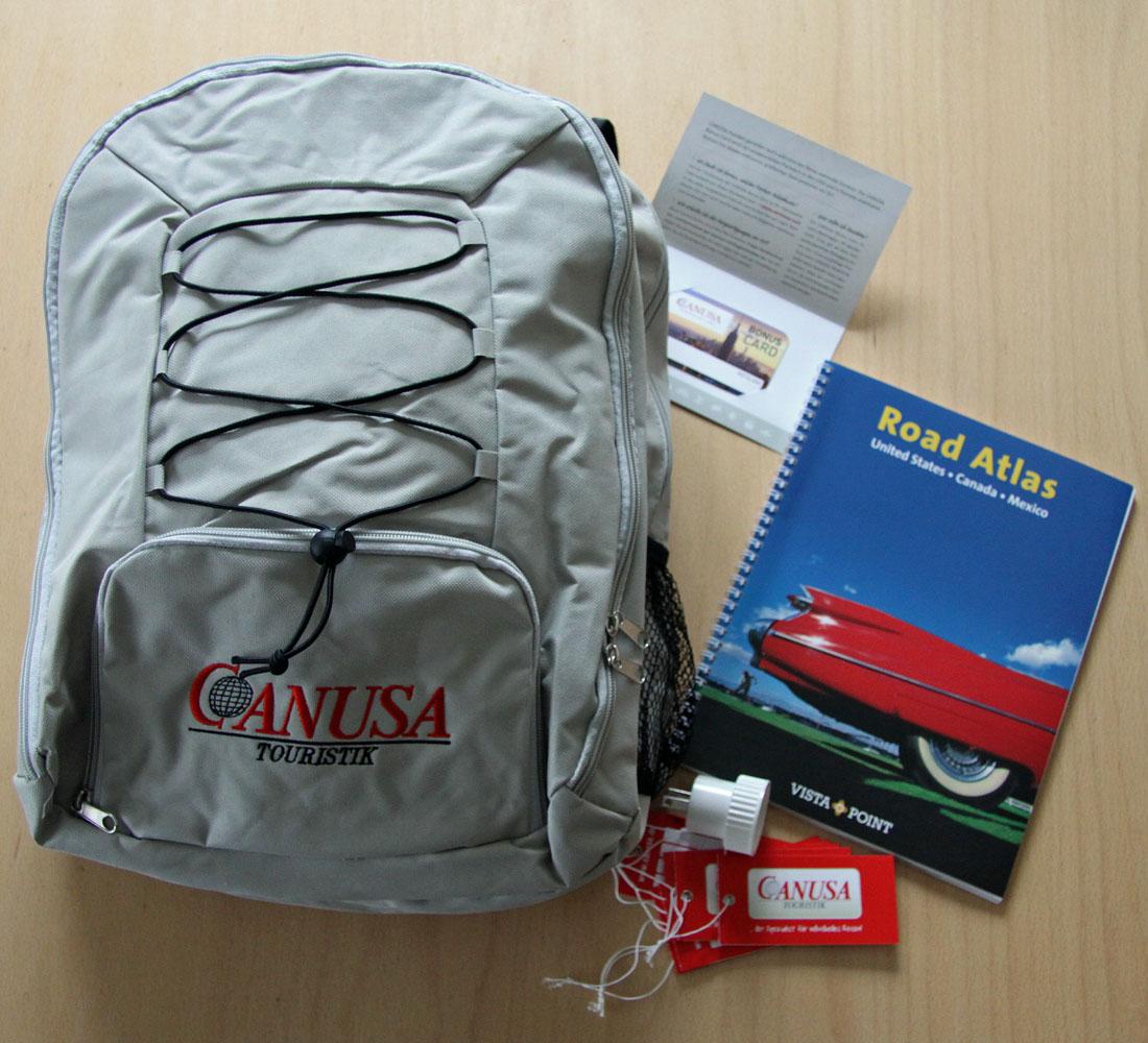 Das ist drin: Canusa Info-Paket. Fotos: Henze